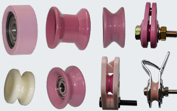 Wiretrex Pulleys Guide Rollers Rollers Rings